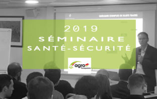 SEMINAIRE-SANTE-SECURITÉ-AGROMOUSQUETAIRES 2019